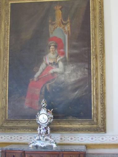 Quadro Carlota Joaquina
