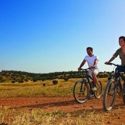 Andando de bicicleta no Alentejo 1